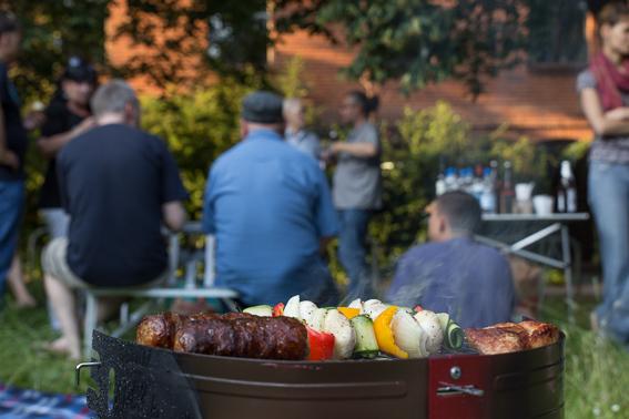 Fleisch und Vegetarisch vereint - © Dominik Sollmann