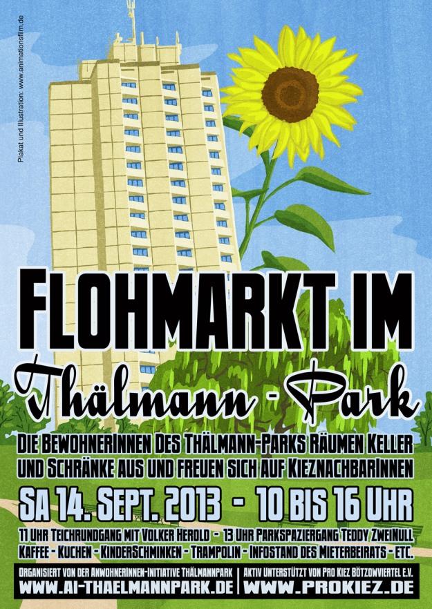 Flohmarkt-Plakat