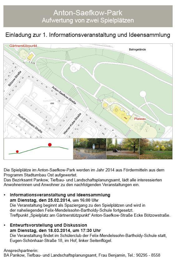 Spielplätze Saefkow Park