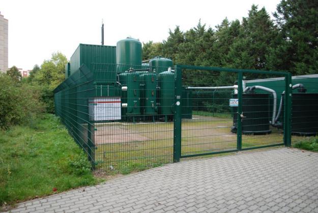Grundwasserreinigungsanlage Ansicht B