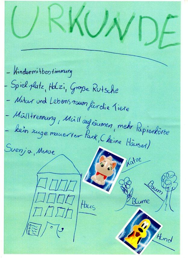 Urkunde Kinder Jugendliche ETP014