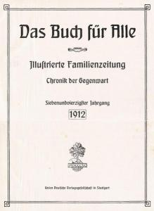 Der Aberglaube der Aviatiker. In: Das Buch für Alle, Jahrgang 1912, Heft 5, S. 121