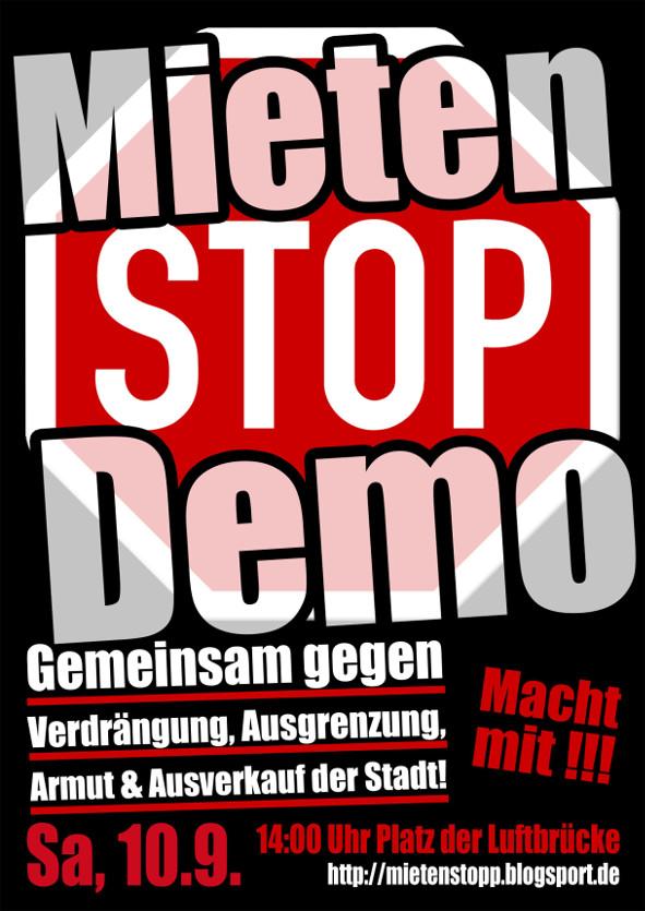 Mietenstopp Demo 1